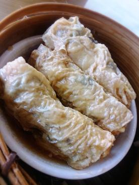 豆腐皮卷,yum~